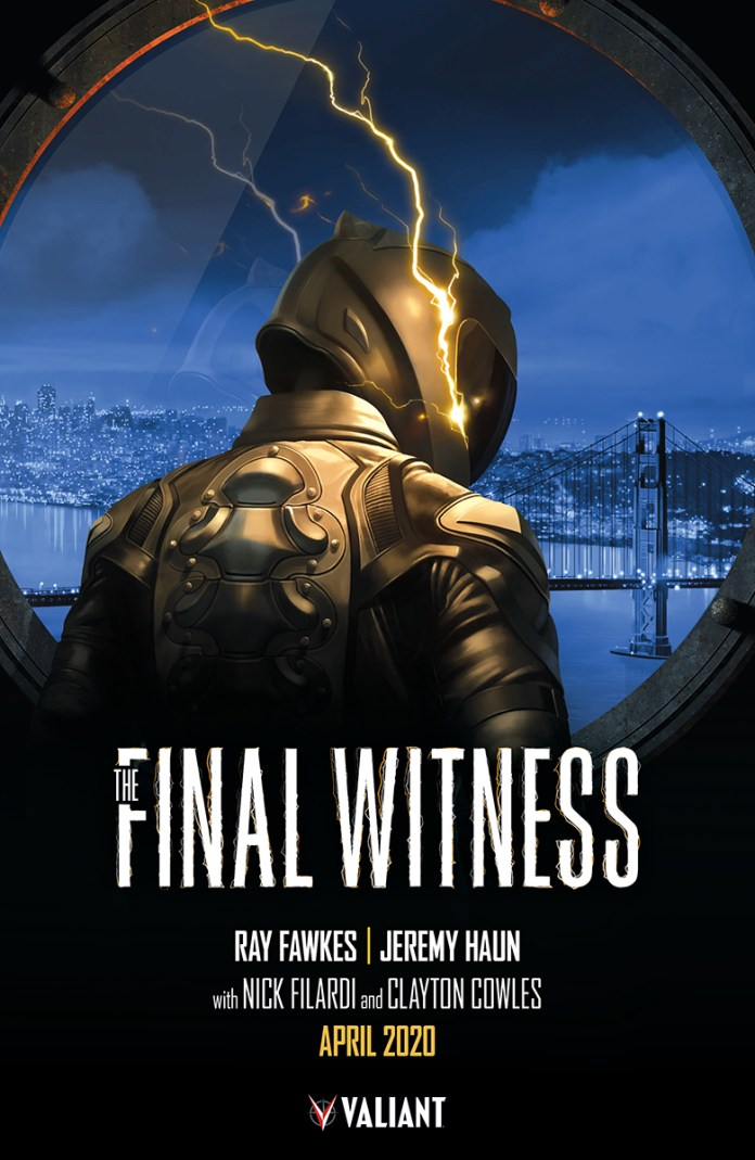 Valiant reveals more details on THE FINAL WITNESS, its first crime-noir mystery comic