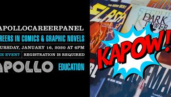 KAPOW! Careers in Comics and Graphic Novels