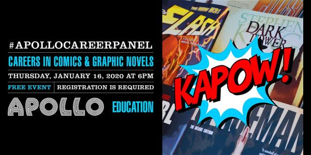 On The Scene: The Apollo hosts KAPOW! Careers in Comics and Graphic Novels panel
