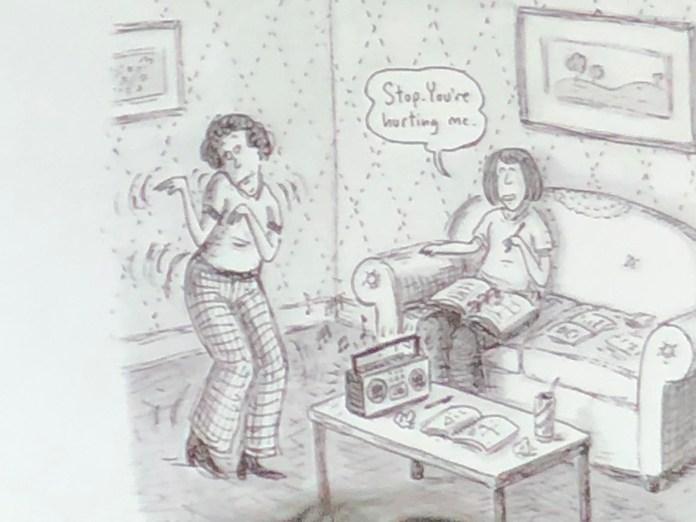 Roz Chast When Moms Dance OCPL Big Read 2020