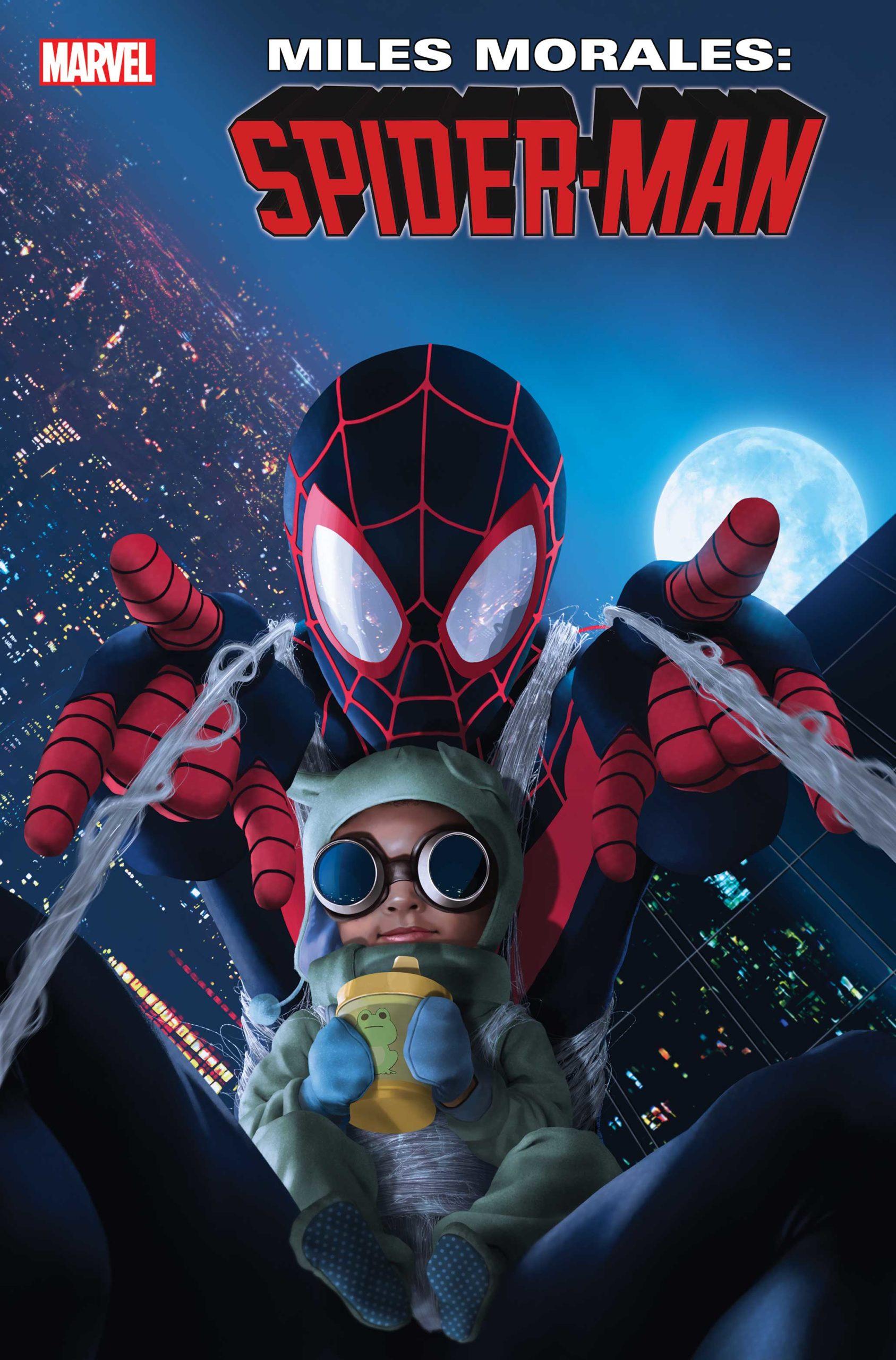 Miles Morales: Spider-Man #18 Billie Morales variant cover