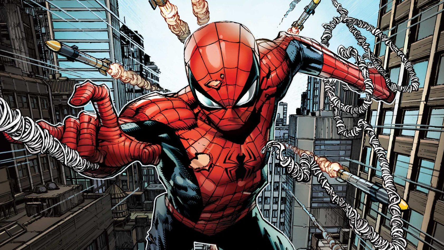 NON-STOP SPIDER-MAN swings into stores this June