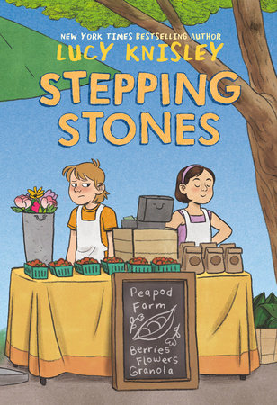cover of Stepping Stones by Lucy Knisley from Random House Graphic.