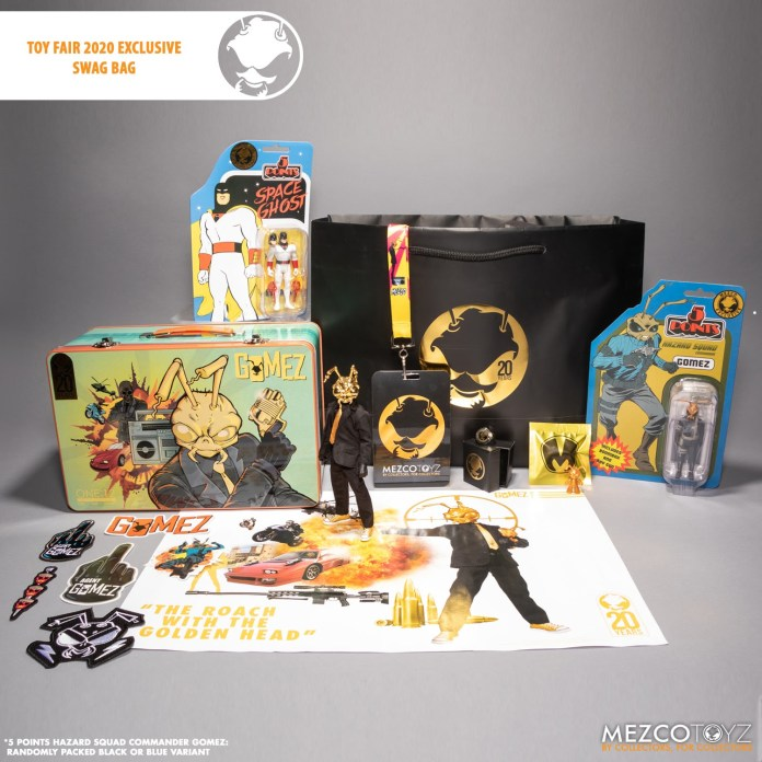 Mezco Toy Fair Swag Bag 2020