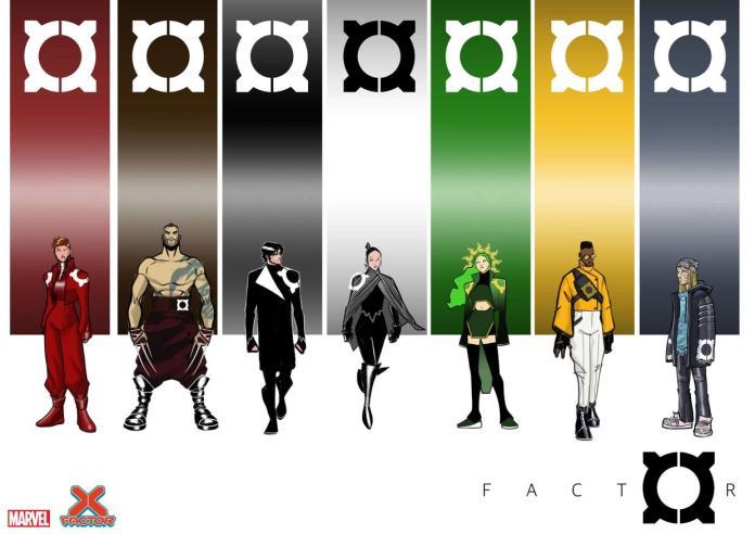 X-Factor costumes