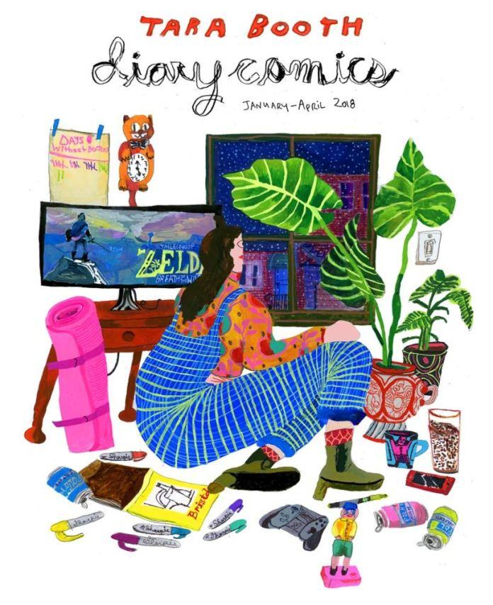 Diary Comics Cover