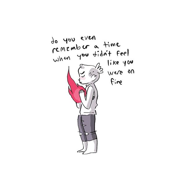 the fire never goes out