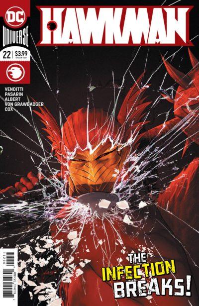 Hawkman 22 cover