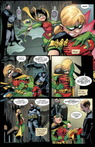 Page two of Amy Wolfram and Damian Scott's Robin story