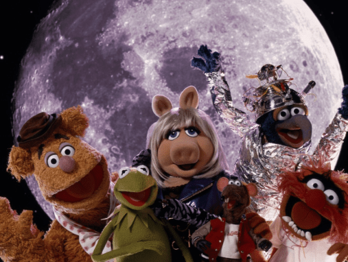 The Muppets, stars of escapist sci-fi movie Muppets from Space