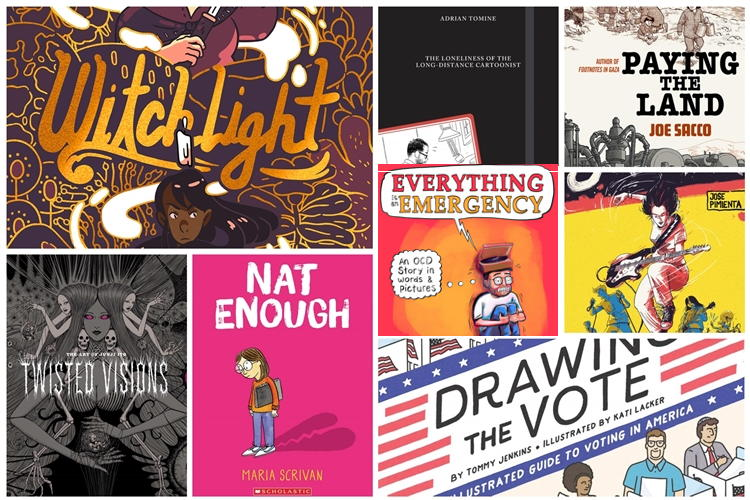 75 of the most anticipated graphic novels for Spring 2020