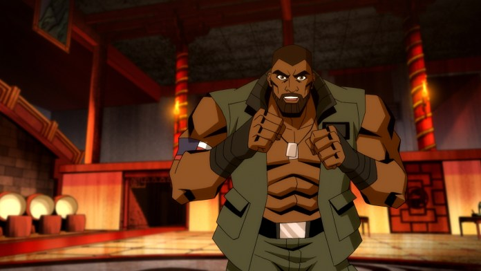 Mortal Kombat Legends Clip Pits Jax Vs Goro The Beat