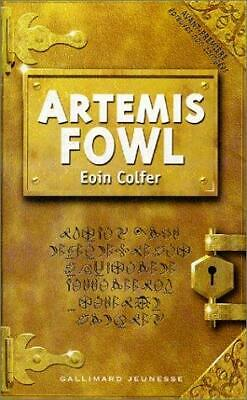 The original cover of Artemis Fowl