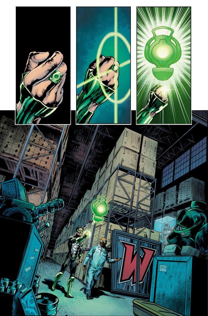 green lantern 80th