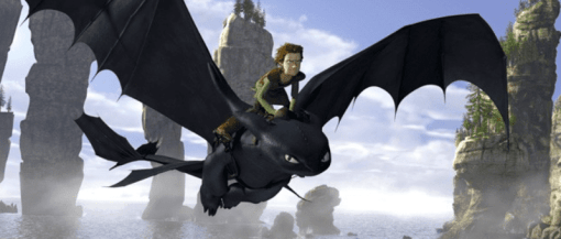 How to Train Your Dragon, one of the best animated fantasy films