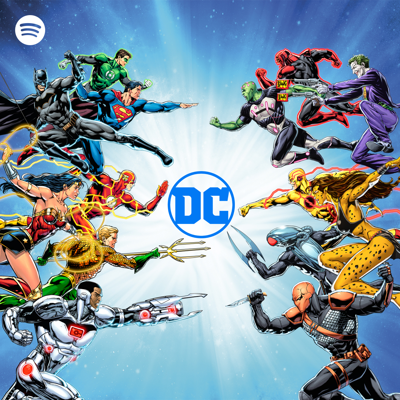 DC Announces Multi-Year Original Podcast Partnership with Spotify