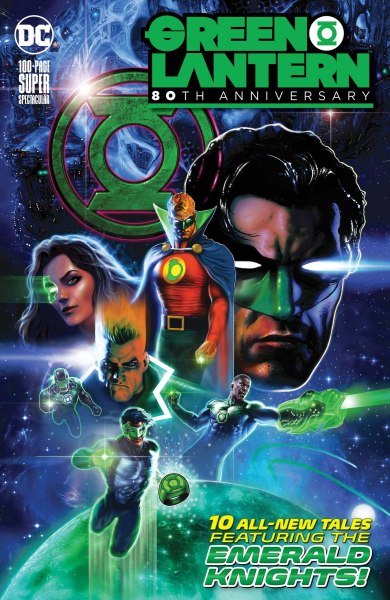 Green Lantern 80th Anniversary Main Cover
