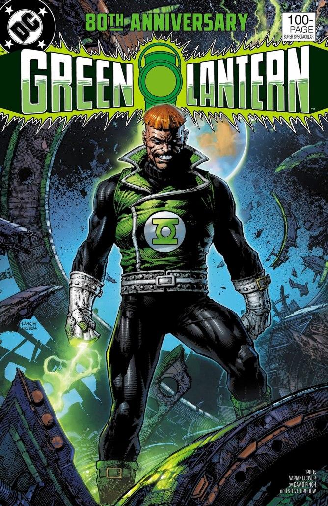 Green Lantern 80th Anniversary Guy Cover