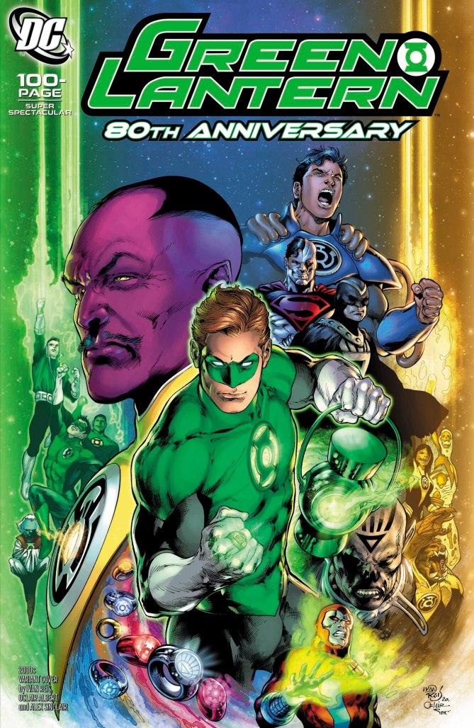 Green Lantern 80th Anniversary 2000s Cover