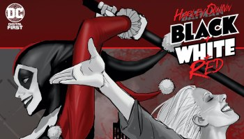 Harley Quinn: Black + White + Red