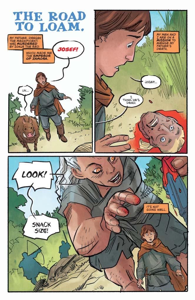 Killing Red Sonja #2