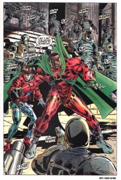Comics Police Racism