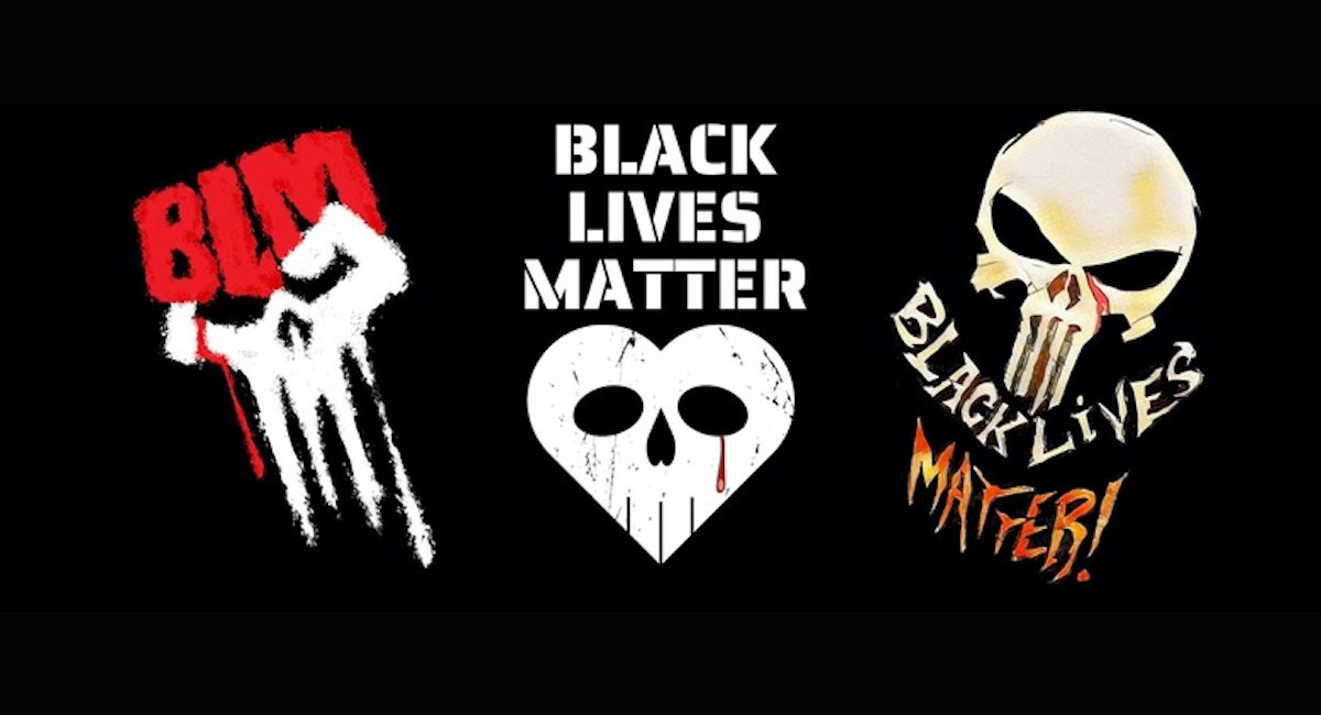 Gerry Conway looks to reclaim the Punisher skull symbol with BLM fundraiser - The Beat