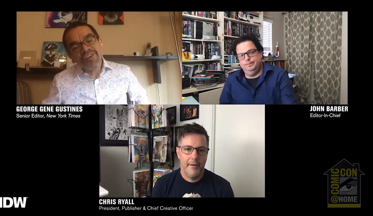 SDCC '20 IDW Publishing Panel