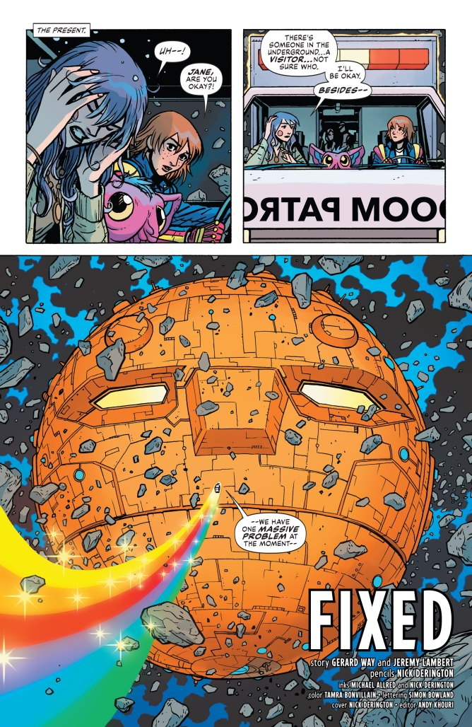 Doom Patrol - Weight of the Worlds