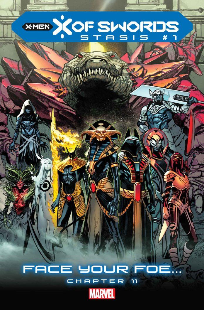 X OF SWORDS: STASIS x of swords