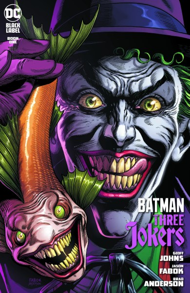 3 Jokers Clown cover with Joker Fish