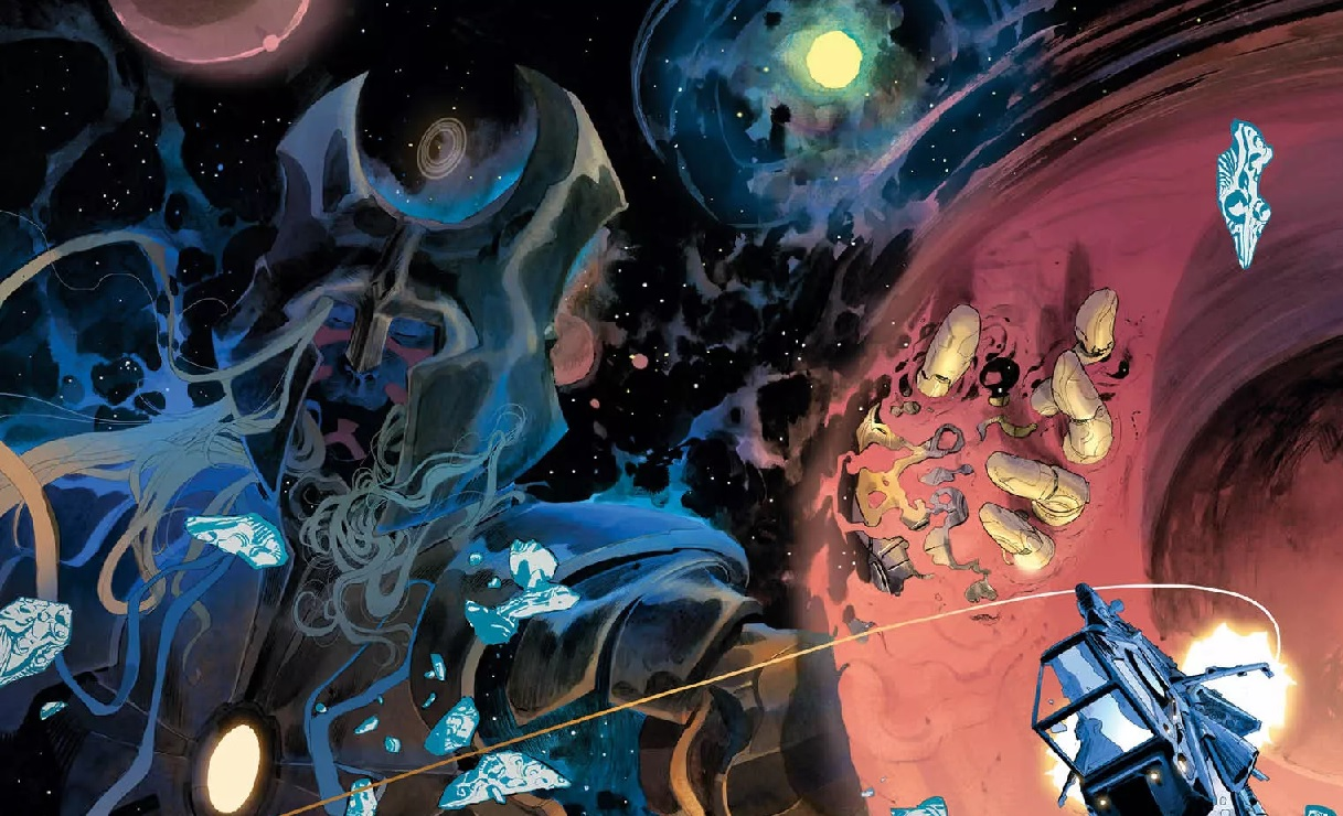 PREVIEW: Al Ewing & Simone Di Meo harvest dead space gods in WE ONLY FIND THEM WHEN THEY'RE DEAD