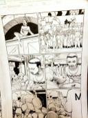 Black Panther #2 Original Art - 1st Shuri Original Art by John Romita Jr and Klaus Janson and Reggie Hudlin Page #9