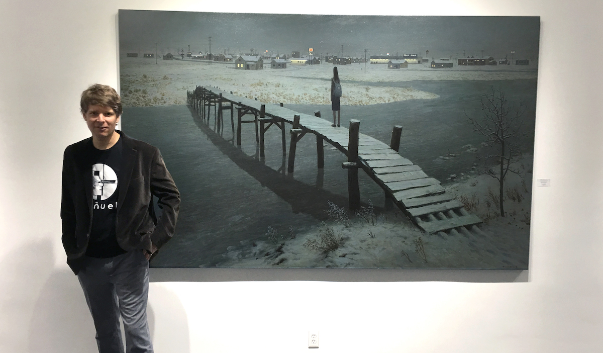 INTERVIEW: Aron Wiesenfeld on his journey from drawing X-Men to gallery shows in Oslo and New York - The Beat