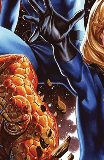 Cover Artwork from Fantastic Four #25