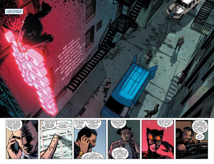 Catwoman #27 pages 2-3