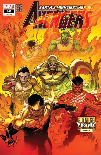 Avengers #40 Cover