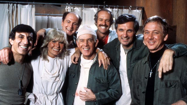 The cast of MASH, a classic comfort show