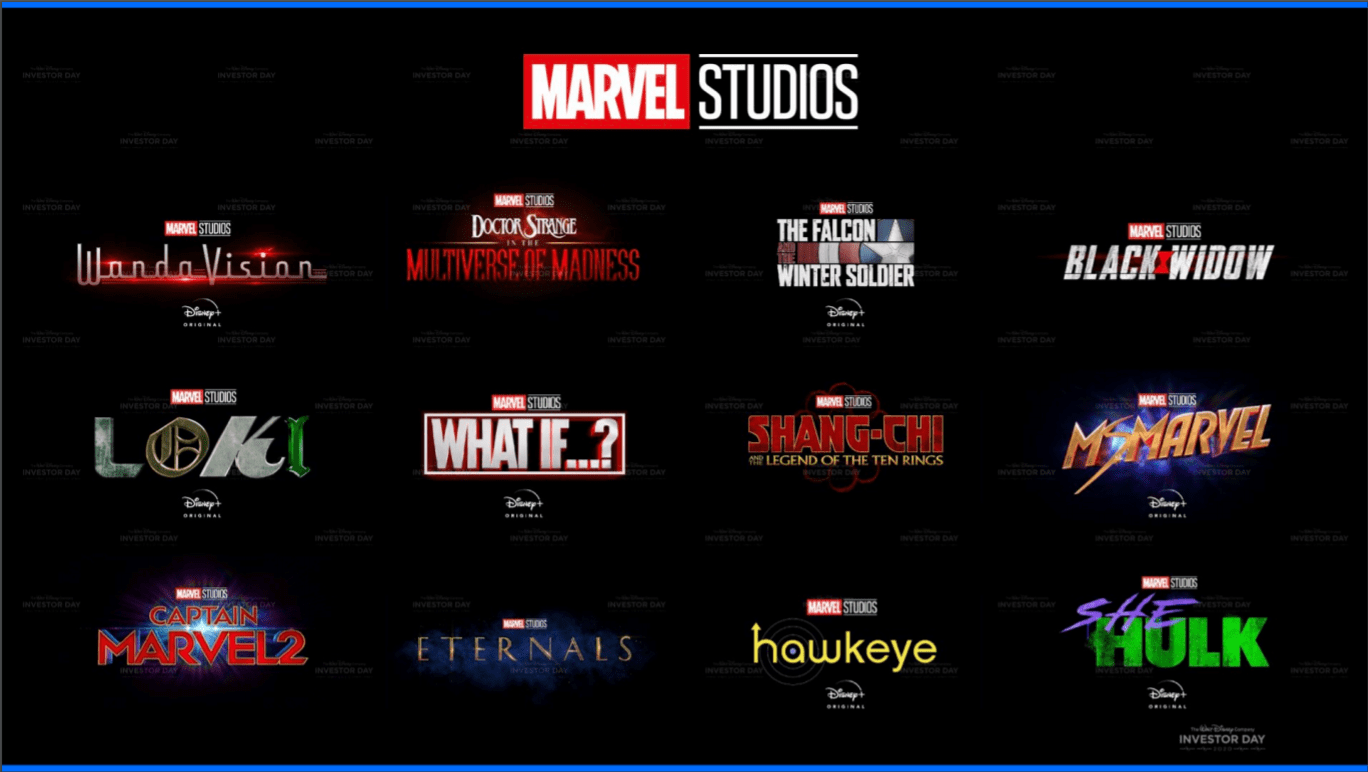 You wanted more MCU titles? Disney delivers!