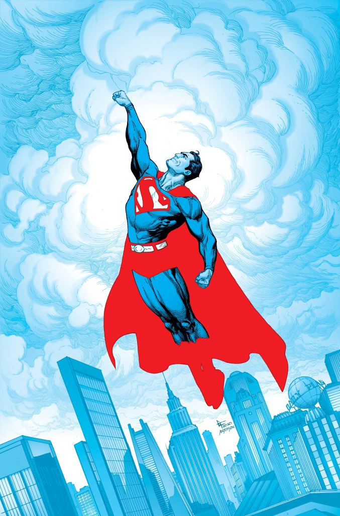 Superman Red & Blue #1 Cover by Gary Frank