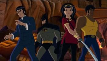 Batman Soul of the Dragon animated