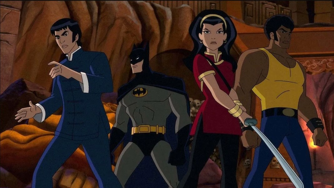 Batman Soul of the Dragon animated