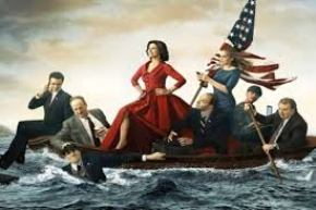 The cast of VEEP, an unconventional comfort show