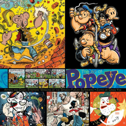 Art of Popeye Artists and Comic Strippers