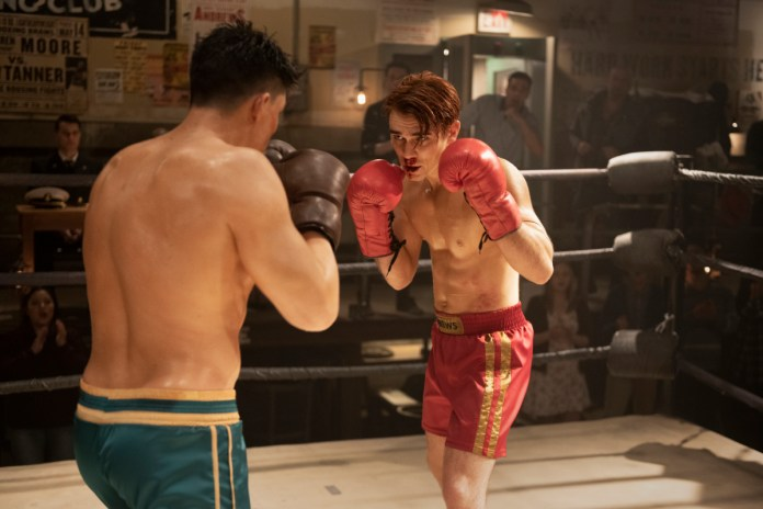 Riverdale Fight Night! Archie vs KO in the boxing ring.