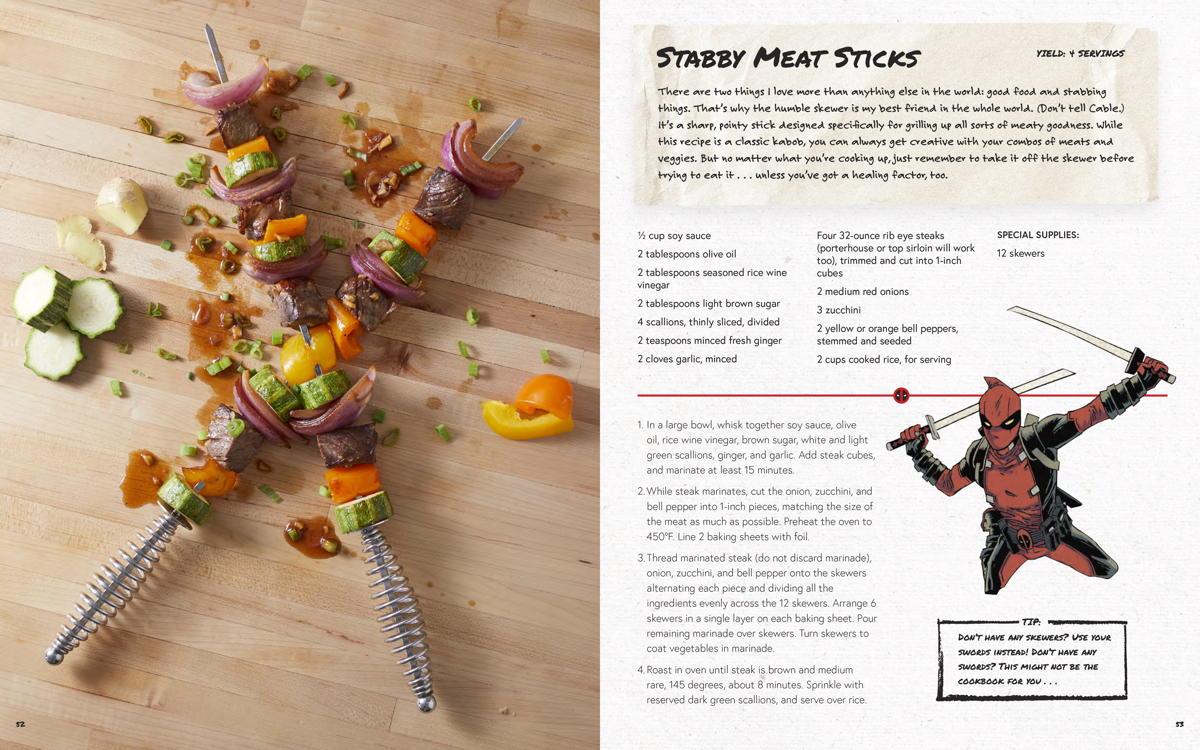 Stabby Meat Sticks