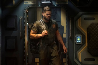 Amos Burton (Wes Chatham) has come a long way from the start of the season