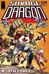 Savage Dragon #259 Cover