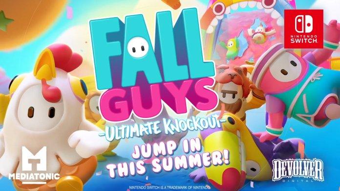 Nintendo Direct Fall Guys