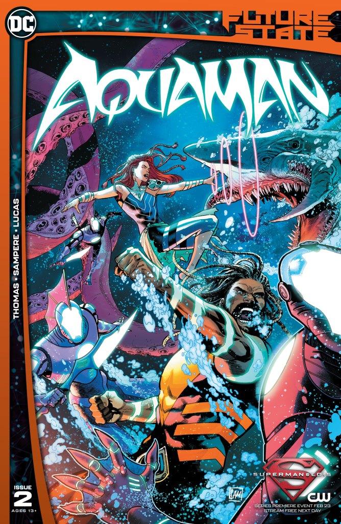 Future State Aquaman #2 Cover